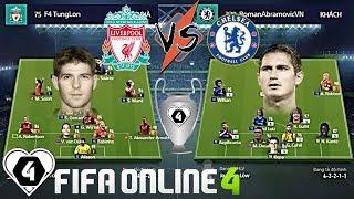 FIFA ONLINE 4 | LIVERPOOL VS CHELSEA: Cuộc Đấu Đầu Giữa Gerrard Vs Lampard | Tứ Kết 1 Giải Đấu ILFCL