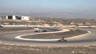Final a ii gp craks aragón menarguens : 11-03-2012 karting hd