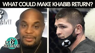 DC proposes a situation that could make Khabib Nurmagomedov return | DC & Helwani | ESPN MMA