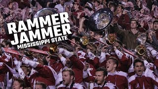 """Watch Alabama fans and the Million Dollar Band sing """"Rammer Jammer"""" after beating Mississippi State"""