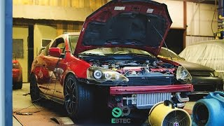 Stock K20 RSX with Precision 5858 Turbo