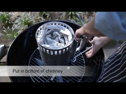 How To: Use Charcoal Chimney