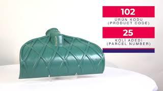 Plastic Compactor Shovel (Thick)