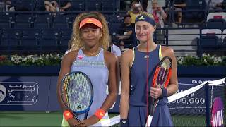 Highlights: WTA R1 - Osaka d. Mladenovic