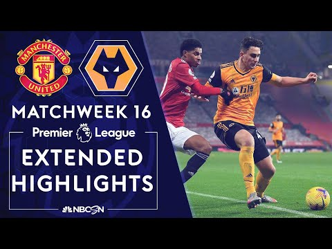 Manchester United v. Wolves | PREMIER LEAGUE HIGHLIGHTS | 12/29/2020 | NBC Sports