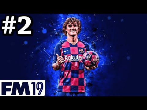 BARCELONA 2019/20 FM19 TRANSFER UPDATE | CHAMPIONS LEAGUE | Football Manager 2019 #2