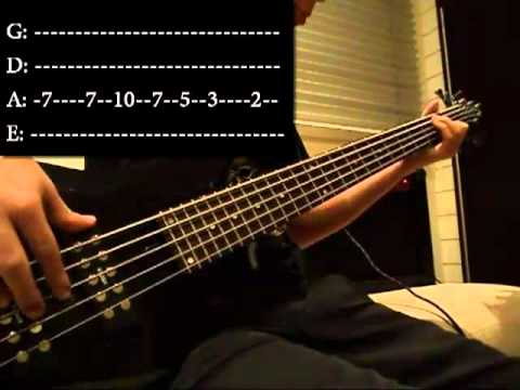 Seven Nation Army - Bass Cover With Tab (HD)