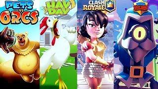 Evolución De Los Juegos De Supercell (2011) - (2017)