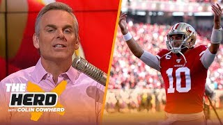 Chiefs are 'jet fuel' for the NFL, Colin says Garoppolo is 'exactly what I want' in a QB | THE HERD