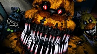 GOLDEN FREDDY ATTACKS!! | Five Nights at Freddy's 4 - Part 4