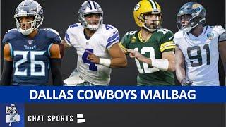 Cowboys Trade Rumors Mailbag On Yannick Ngakue, Dak Prescott & Aaron Rodgers + Sign Logan Ryan?