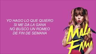 Danna Paola - Mala Fama [LETRA]
