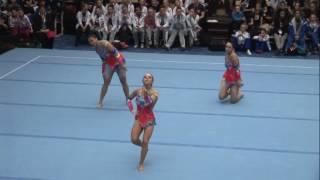 USA 1 WG BAL GARRETT Londrea KIEVSKY Amanda SEGEL Emilia FIAC 2016 World Cup