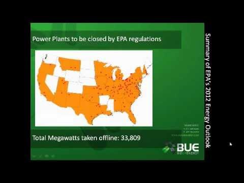 Webinar- EPA Energy Outlook