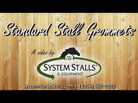 Standard Stall Grommets for Your Barn Stall
