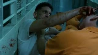 Daredevil - Punisher Prison Fight (HD 1080p)