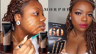 NEW MORPHE FOUNDATION REVIEW | SWATCHES
