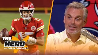 Colin Cowherd reacts to Chiefs win over Texans, talks Bucs chances against Saints | NFL | THE HERD