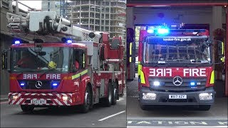 Fire engines and trucks responding - BEST OF 2017
