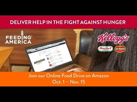 Kellogg Company Expands World Food Day Online Food Drive on Amazon