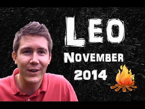 Leo Astrology Tarot Horoscope November 2014
