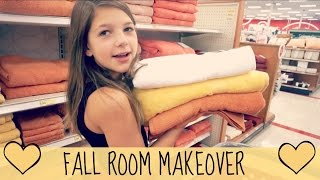 Decorating My Pink Room for Fall | Shopping for Room Makeover