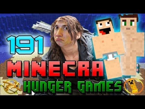 Minecraft: Hunger Games W/Mitch! Game 191 - NAKED BROTHERS! - Smashpipe Games