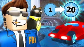 BEST WAY TO LEVEL UP IN THE NEW JAILBREAK UPDATE! (Roblox)
