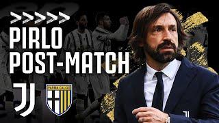 🎙? PIRLO POST-MATCH | Juventus 3-1 Parma | Serie A