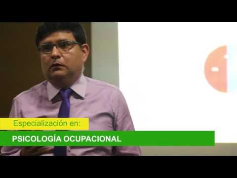 Programa de Especialización en Psicología Ocupacional. Módulo 4, Parte 3 (31/05/16)