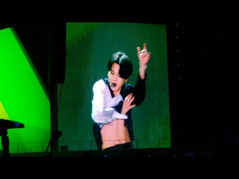 190505 Jimin Serendipity @ BTS 방탄소년단 Speak Yourself Tour in Rose Bowl Los Angeles Concert Fancam