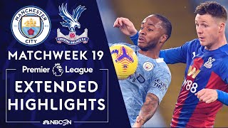 Manchester City v. Crystal Palace | PREMIER LEAGUE HIGHLIGHTS | 1/17/2021 | NBC Sports