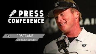 Coach Gruden Postgame Presser - 11.3.19 | Raiders
