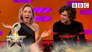 Saoirse Ronan's hilarious prank call won her a holiday! 😂 - BBC