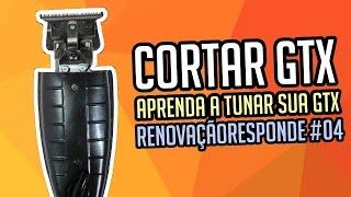 Como cortar e regular a GTX (Andis) - RENOVAÇÃORESPONDE #04