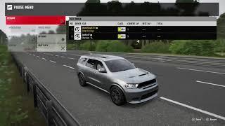 Forza 7 Drag race: Dodge SRT Durango vs Jeep Grand Cherokee SRT 2014