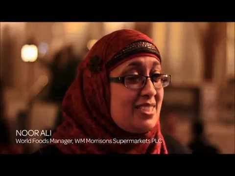 2014 Specsavers everywoman in Retail Ambassador, Noor Ali, World Foods Manager, Morrisons