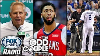 The Odd Couple on Boston Celtics, Manny Machado & Anthony Davis