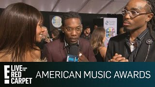 Migos Teases Quavo's Debut Solo Album at 2018 AMAs | E! Red Carpet & Live Events