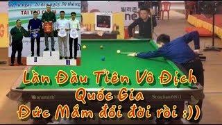 Đức Mắm đại chiến Nam Son | Chung Kết Snooker Vô Địch Quốc Gia Vòng 1 năm 2019