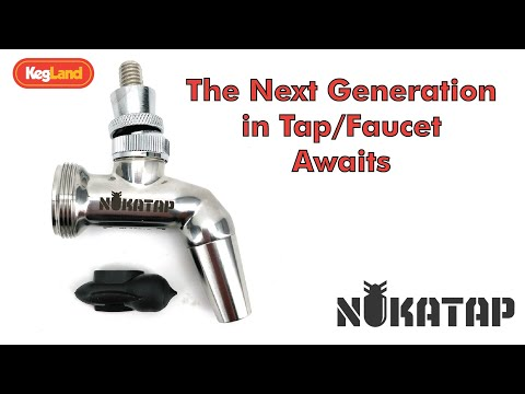 Nukatap - Stealth Bomber Stainless Steel Forward Sealing Tap