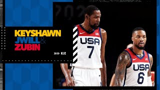 Stephen A. is confident Team USA will beat France and win gold | KJZ