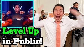 """CIARA - """"Level Up"""" - LEVEL UP CHALLENGE IN PUBLIC!!"""