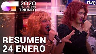 RESUMEN DIARIO OT 2020   24 ENERO