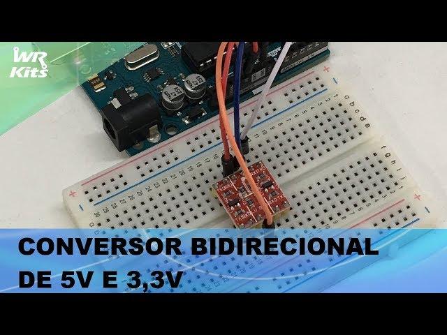 CONVERSOR DE 5V PARA 3,3V BIDIRECIONAL!