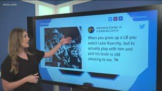 Carolina Panthers players react to Luke Kuechly retirement