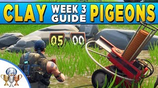 Fortnite - All Clay Pigeon Locations (Fortnite Battle Royale Week 3 Challenge Guide)