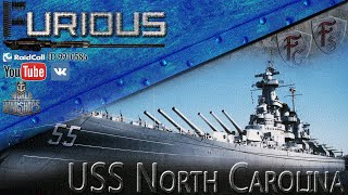 Превью: USS North Carolina. Королева Севера