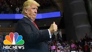 Watch Live: President Donald Trump Holds Campaign Rally In Wisconsin | NBC News