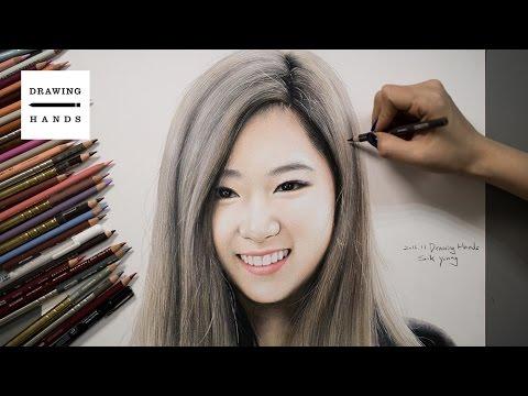 Speed Drawing TWICE - Sana [Drawing Hands]